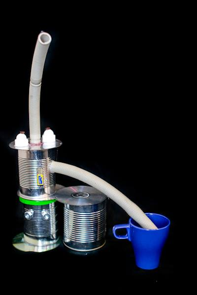 Bild von Kaffeemaschine für echte Kaffeebohnen