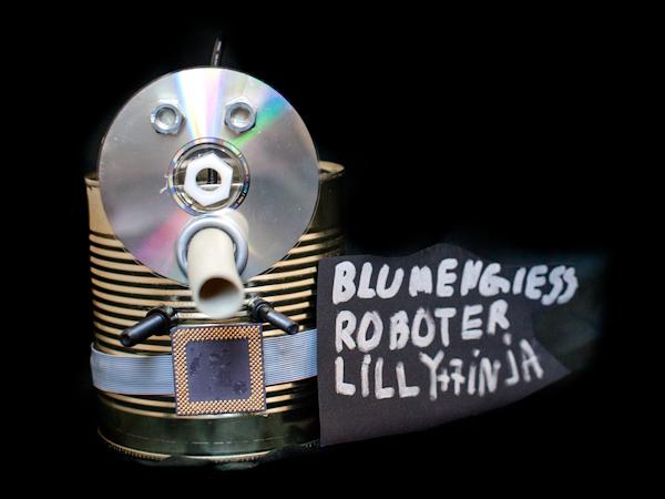 Bild von Blumengiessroboter
